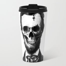 Abraham Lincoln Travel Mug