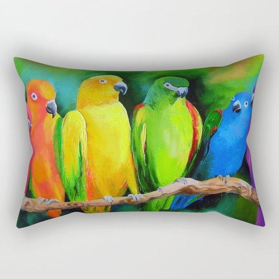 Parrots Australia Rectangular Pillow