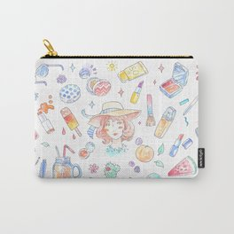 Summer Beauty Carry-All Pouch