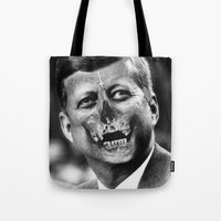dallas Tote Bags featuring Dallas County by mikeaych