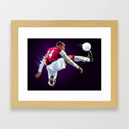Thank you Thierry! Framed Art Print