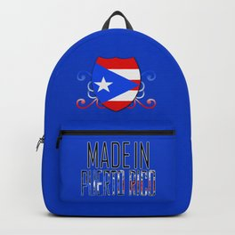 Made In Puerto Rico Backpack
