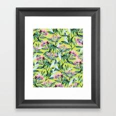 Floral Cure #society6 #decor #buyart Framed Art Print