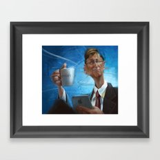 Bill Gates Framed Art Print
