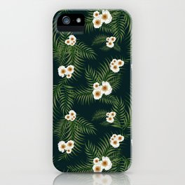 Gloomy Jungle Pattern #society6 #decor #buyart iPhone Case