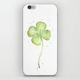 Four Leaf Clover iPhone Skin
