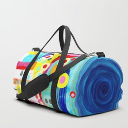 There is no pain, you are receding Duffle Bag