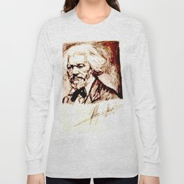 Frederick Douglass Long Sleeve T-shirt