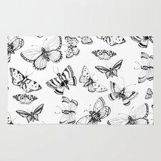Butterflies and moths Rug