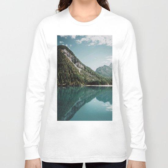Grainy Lake Long Sleeve T-shirt