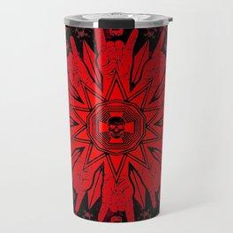 Heavy Metal Mandala Travel Mug