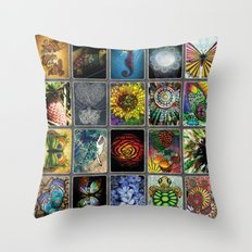 SMS Alohalani Collage Vol. 1 Throw Pillow