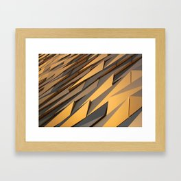 Titanics surface Framed Art Print