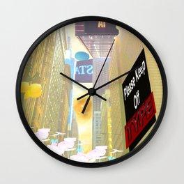 Plebeian Wall Clock