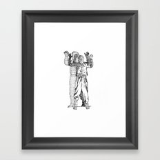The Wolfman  Framed Art Print