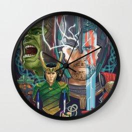 Thor Ragnarok Wall Clock
