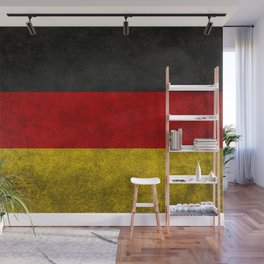 Flag of Germany - Vintage version Wall Mural