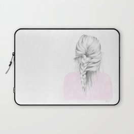 Braid in pink Laptop Sleeve