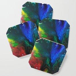 Rainbow Juxtaposition Coaster
