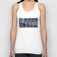muppet Tank Tops featuring Muppet Stretching Room Portraits by Lissyleem