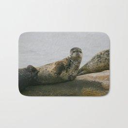 Smiling Harbor Seal Bath Mat