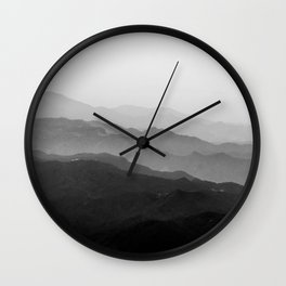 Beyond the horizon Wall Clock