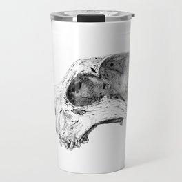 Wolf Skull Travel Mug