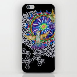Breathe and Be iPhone Skin
