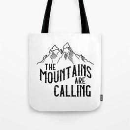 Hiking Climbing Gift T-Shirt I Mountaineering Tote Bag