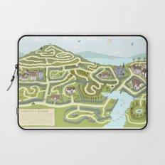 Limestone Village Maze Laptop Sleeve