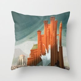 The Red Keep Throw Pillow