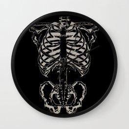 Skeleton #1 Wall Clock