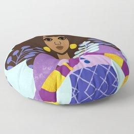 Winter Solstice Floor Pillow