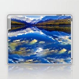 A CLOUDY DAY AT LAKE MCDONALD Laptop & iPad Skin