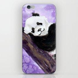 Panda bear sleeping iPhone Skin