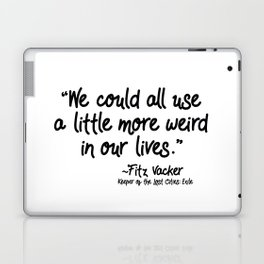 Fan-favorite Fitz Quote Laptop & iPad Skin