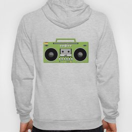 Retro Ghetto Blaster Hoody
