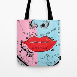 The Proverbs 31 Woman Tote Bag