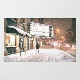 New York City Snow Rug