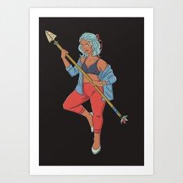 Freya Art Print