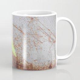 Fresh green with rusty grey Coffee Mug