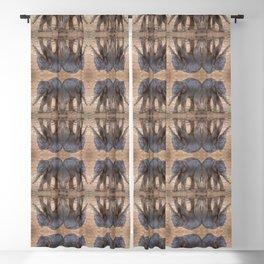 Pattern of Baby Elephants Blackout Curtain