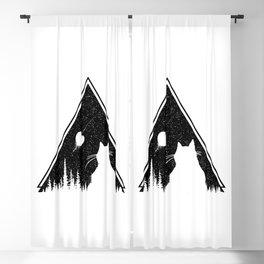 Moon Destroyer Blackout Curtain