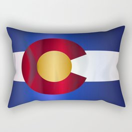 State Flag Of Colorado Rectangular Pillow