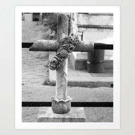 old cross Art Print