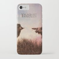 wanderlust iPhone & iPod Cases featuring Wanderlust by Brianne Lanigan