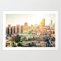 New York City Graffiti Art Print