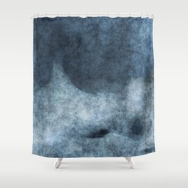 stained fantasy misty mountain Shower Curtain