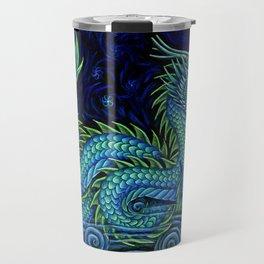 Chinese Azure Dragon Travel Mug