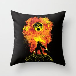 Nuke 'Em All! Throw Pillow